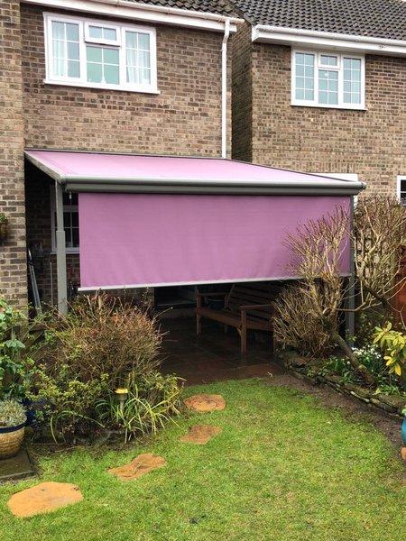 Pink Awning Fabric