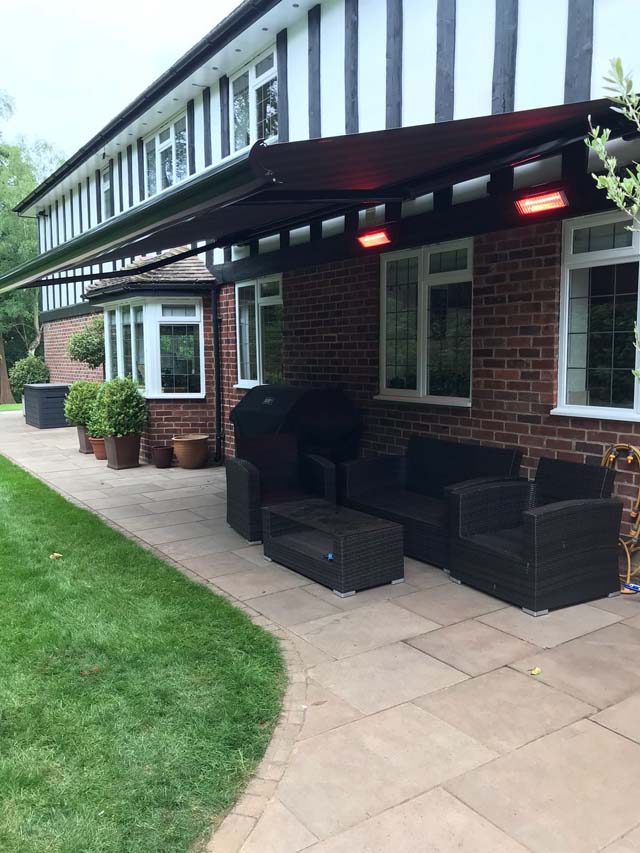 Awning With Heaters